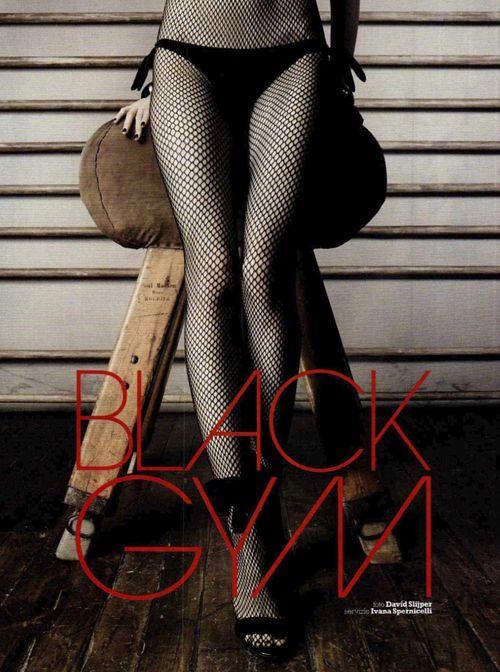 Ranya Mordanova | David Slijper | Marie Claire Italia June 2012 | BlackGym - 3 Sensual Fashion Editorials | Art Exhibits - Anne of Carversville Women's News