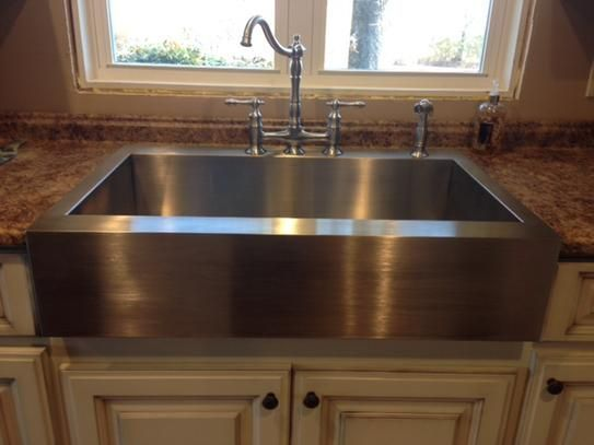 A Front Kitchen Sink, Drop In Farm Sink Home Depot