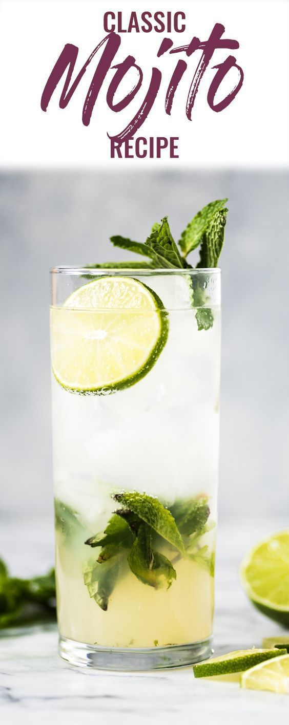 The Best Mojito Recipe Isabel Eats Recipe In 2020 Mojito Recipe Classic Mojito Recipe Best Mojito Recipe