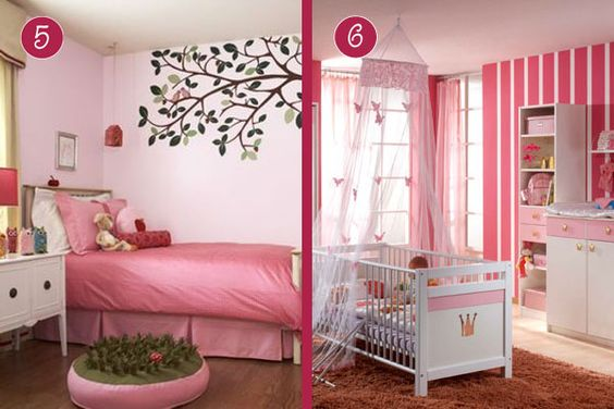 Habitaciones Para Ni As En Tono Rosa Home Decor Pinterest
