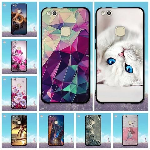 New Soft Tpu Case For Huawei P10 Lite Protective Cases For Huawei P10 Lite Lovely Case For Huawei P 10 Lite Girls Painted Cover Protective Cases Case Huawei