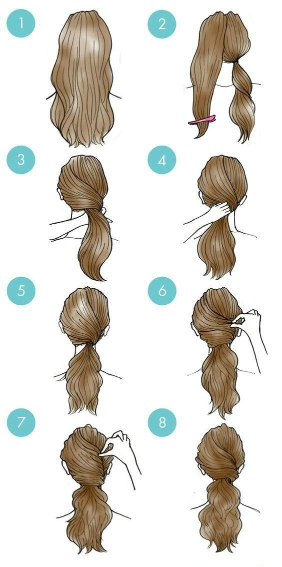 Easy Everyday Hairstyles Step By Step For Girls Gym Route Coiffures Simples Pour Tous Les Jours Coiffures De Tous Les Jours Coiffures Simples