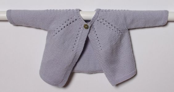 Knitting Pattern Baby Cardigan Instructions por LittleFrenchKnits