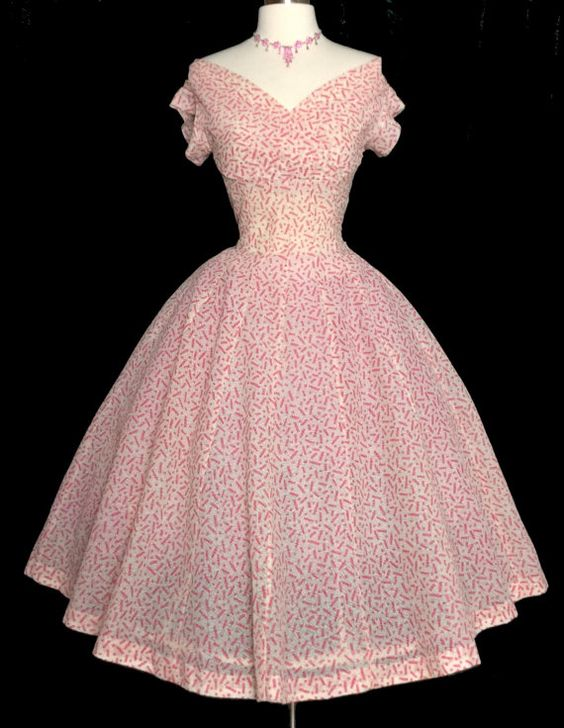 Vintage 1950s Dress//50s Dress//Designer//Jonathan Logan//New Look ...