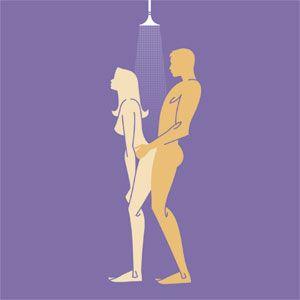 Shower Sex - Water Sex - Slippery When Wet Sex Position - Cosmopolitan