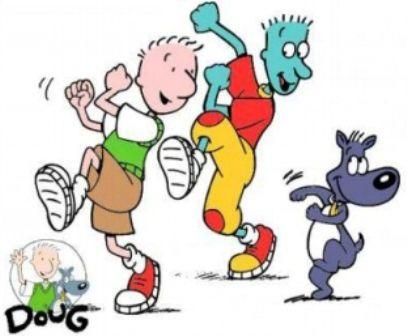 Doug on Nickelodeon
