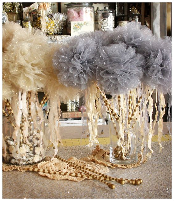 WANDS! Here's yet another reason to love tulle...