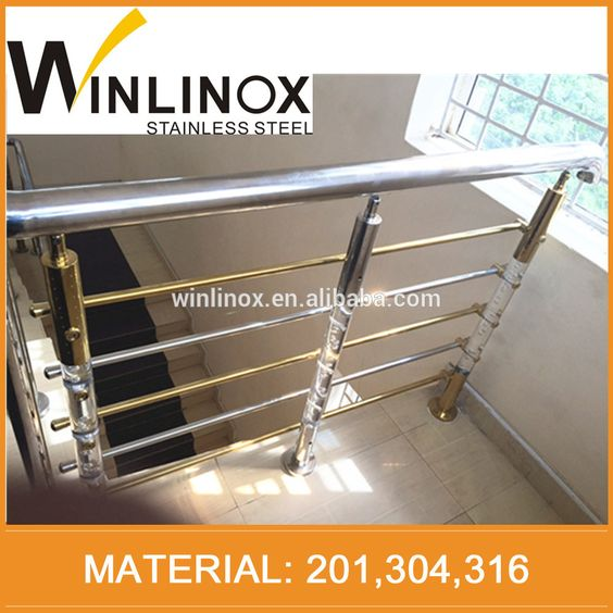 Hot selling stainless steel railing price/lowes porch railings with certification#stainless steel railings price#railings