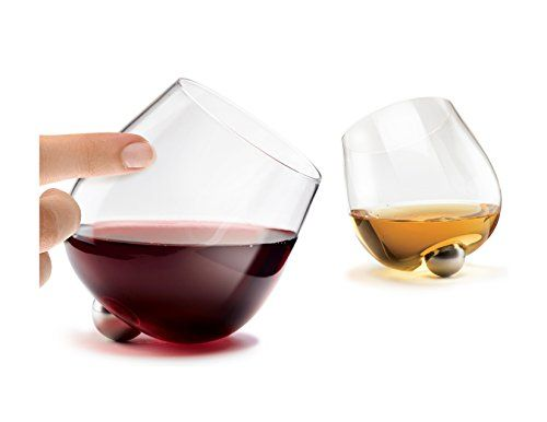 Unique Spill Resistant Spinning Aura Glass For Wine Spi Wine Glass Spilled Wine Stemless Wine Glass