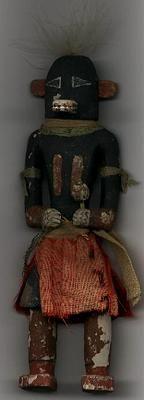 1880's Owak (coal) Kachina