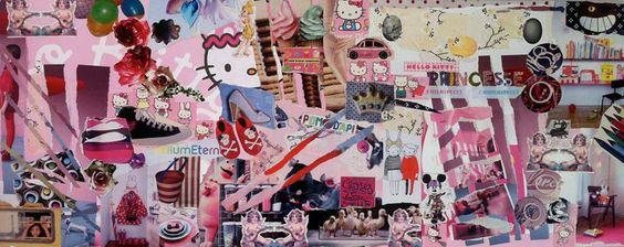 Tableau pour chambre de princesse 100 X 40 cm de la boutique urbanCGB sur Etsy