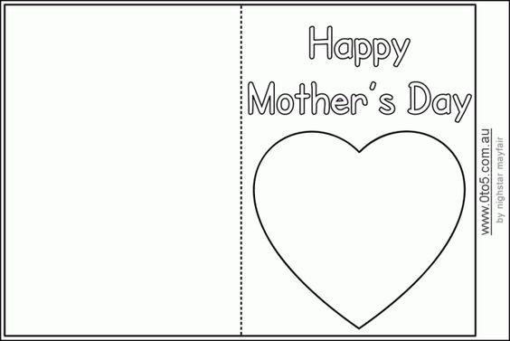 Easy Mothers Day Greeting For Facebook Whatsapp Twitter Instagram - mothers day card template