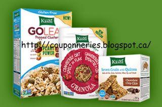 Coupons et Circulaires: 1$ sur les Céréales ou Barres KASHI