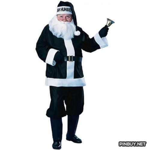 Rubie's Costume Bah Humbug Santa Suit - PinBuy