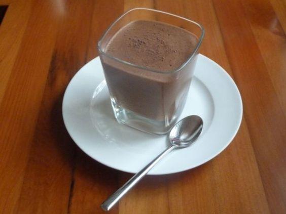 Chocolate Mousse Dukan Diet Recipe