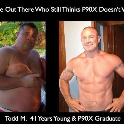 P90X transformation