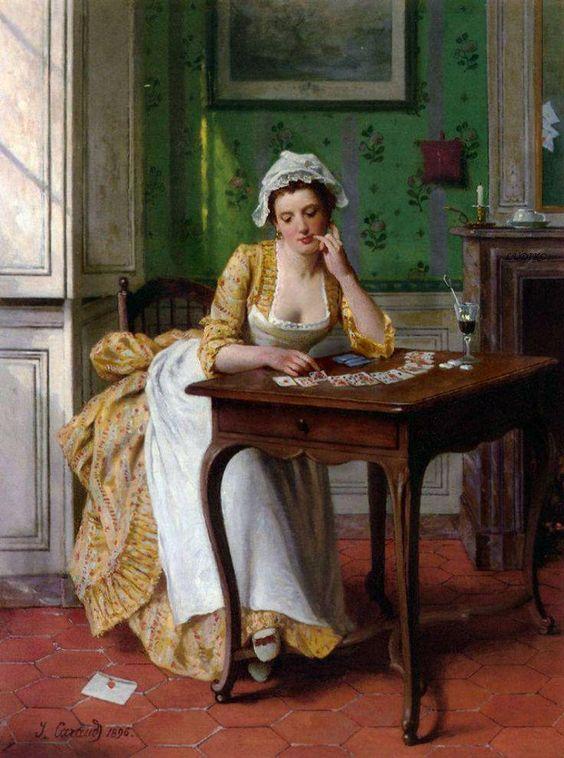 Joseph Caraud (French painter, 1821-1905)...........: