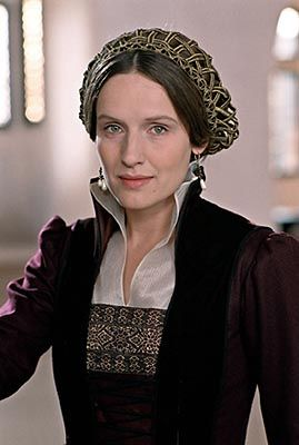 Claire Cox as Katharina Von Bora. (Luther):