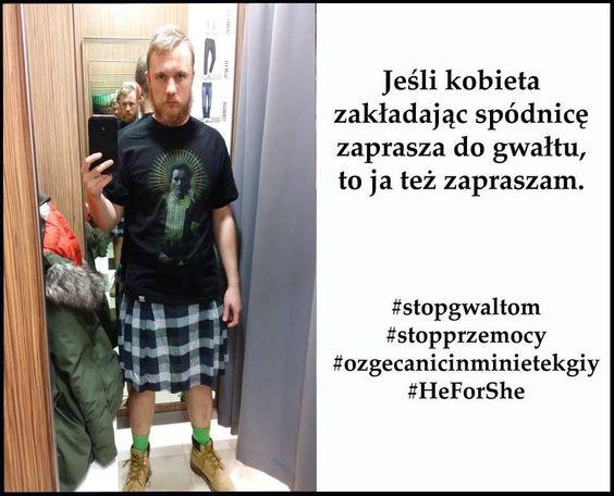 Łukasz Karolak - Razem przeciw kulturze gwałtu! #StopGwaltom #StopPrzemocy #HeForShe #ozgecanicinminietekgiy