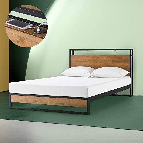 Enjoy Exclusive For Zinus Suzanne Metal Wood Platform Bed