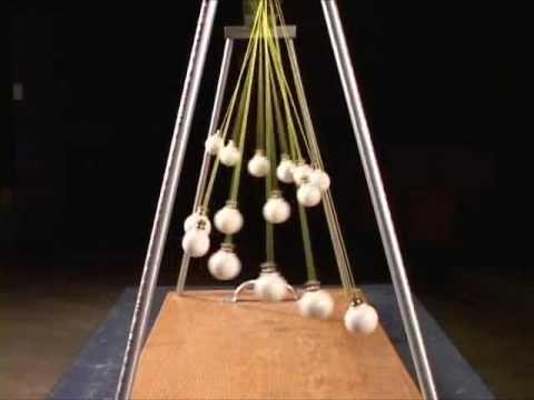 Super cool pendulum waves demonstration! #pendulum #waves #physics ...