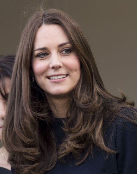 Kate Middleton Hair Color 2013 23 celebrity brunettes to inspire your ...