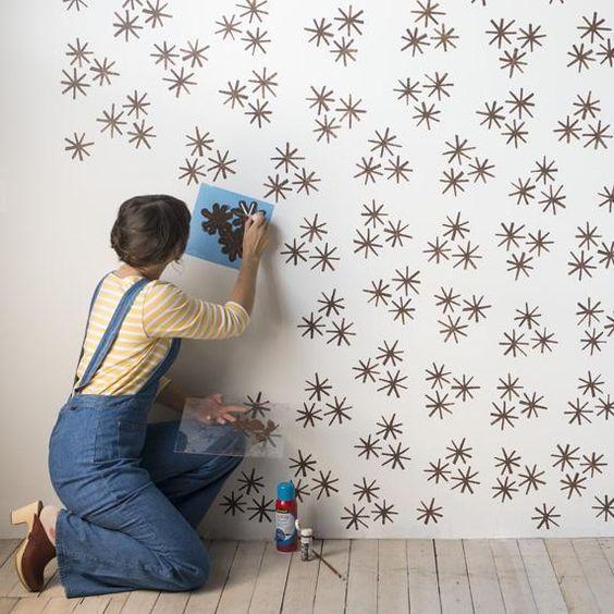 7 Stunning Diy Wall Painting Design Ideas Diy Wall Painting Design Ideas Wallpaintingdesignideas Wall Diy Wall Painting Kids Room Wall Wall Stencils Diy