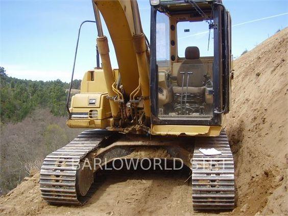 Caterpillar 312B, 2001, Escavadoras de rastos