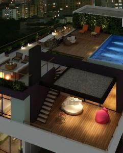 Condomínio Edifício Super 8 - R. Simpatia, 51 - Vila Madalena | 123i