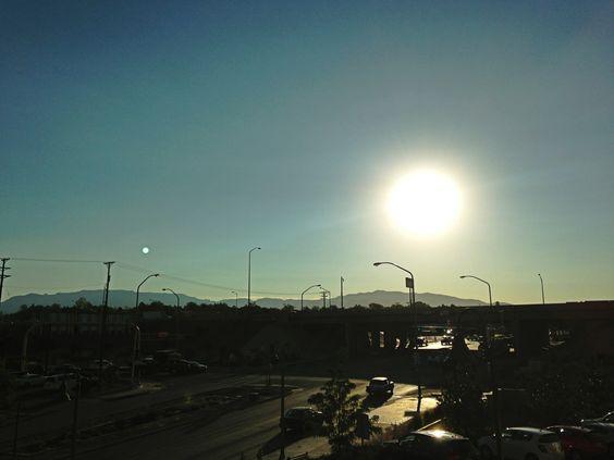 Albuquerque, NM. Early morming .