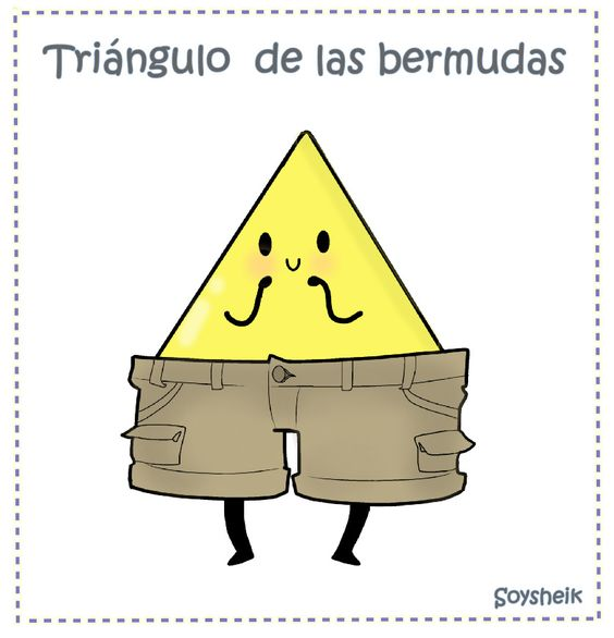 #Spanish jokes for kids: El triángulo de las bermudas. #chistes #jokes in Spanish