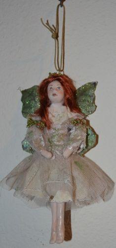 Fairy OOAK Artist Doll Sculpted -Hanging Style-Red Hair-Laguna Beach Doll Artist-this little doll sold on ebay