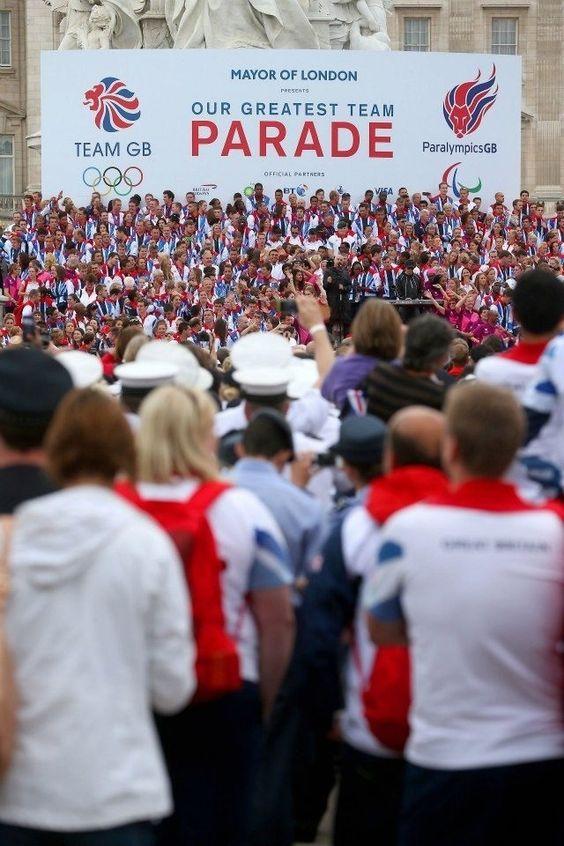 London 2012 Team Parade