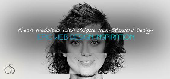 30 Fresh Websites with Unique Non-Standard Design