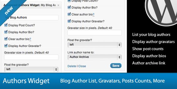 Author Bio Plugins