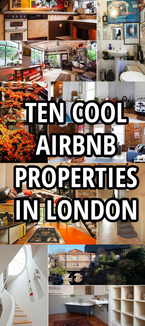 Looking for an Airbnb in London? We've picked ten of the coolest Airbnb properties available to stay in.