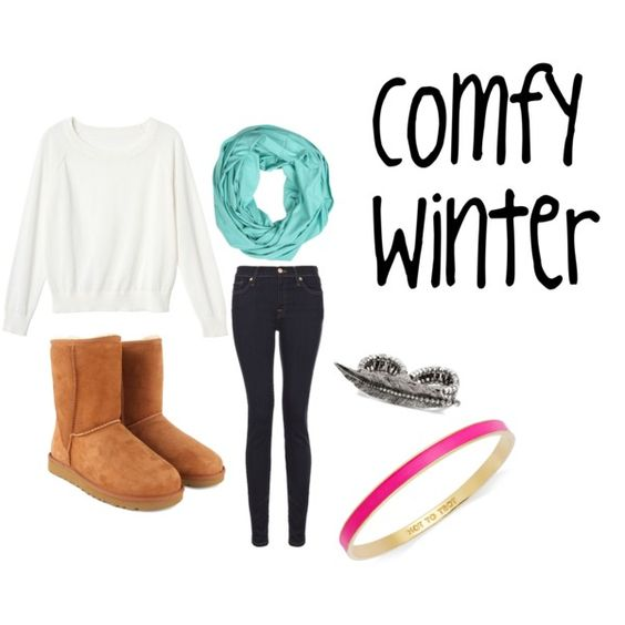 """""""Comfy Winter Outfit"""" by gabpacitti on Polyvore"""