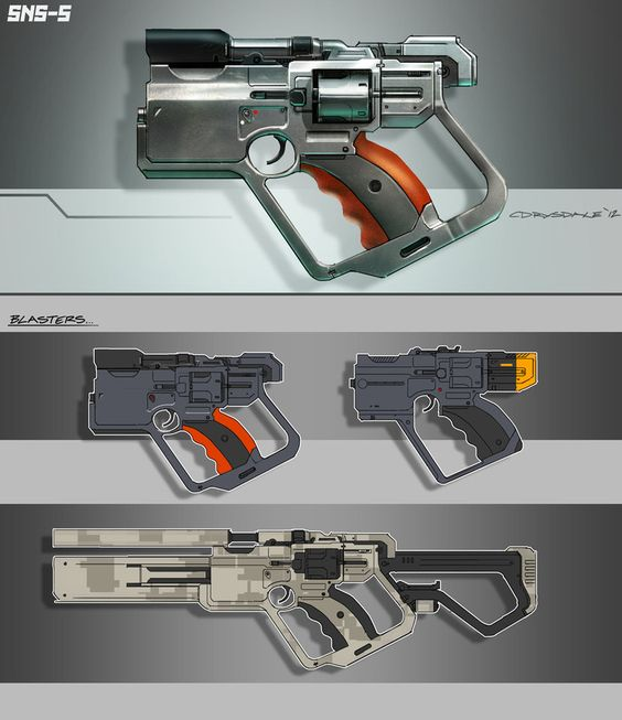 Hunting weapon concept for