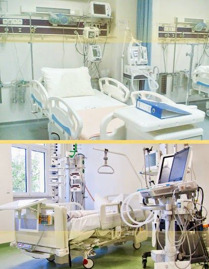 Equipment used in Intensive Care Unit