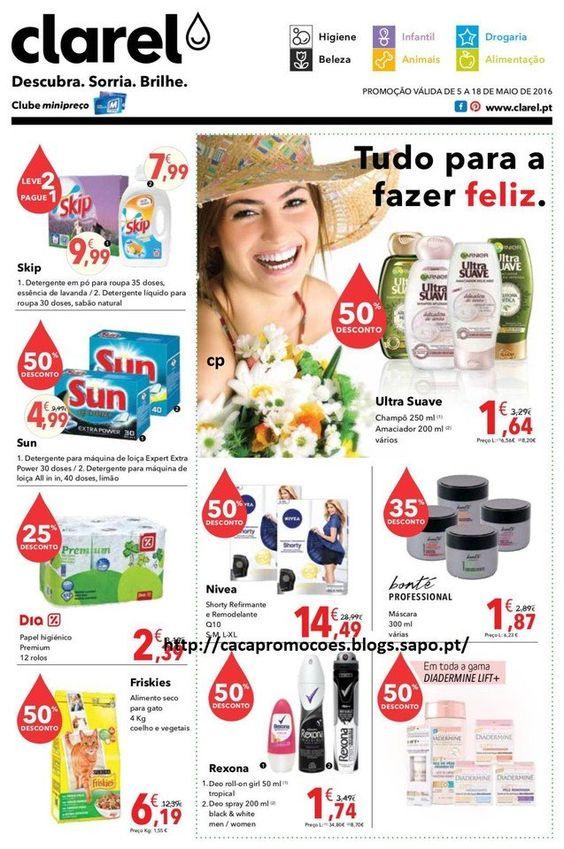 Promoções Clarel - Antevisão Folheto 5 a 18 maio - http://parapoupar.com/promocoes-clarel-antevisao-folheto-5-a-18-maio/