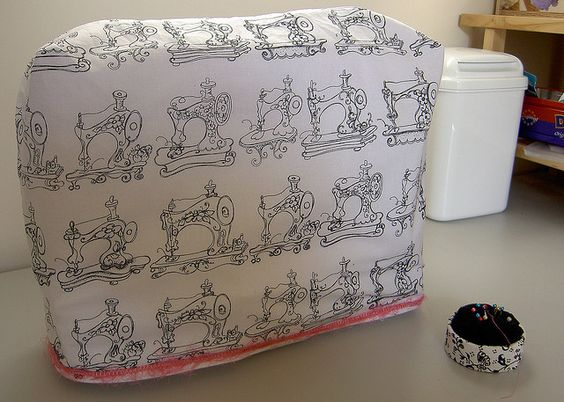 sewing machine cover pattern free