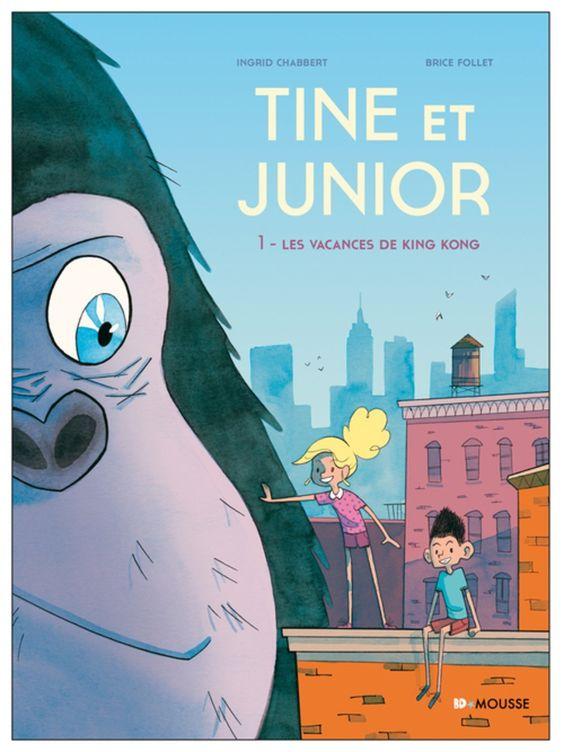 Tine et Junior, King Kong prend sa retraite http://www.ligneclaire.info/follet-chabert-40547.html