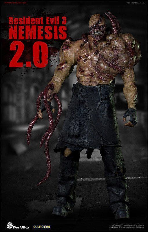 1 6 Scale Resident Evil 3 Nemesis 2 0 Limited Wb Nemesis 2 0