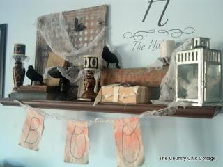 Halloween decorations : IDEAS &  INSPIRATIONS My Halloween Mantle