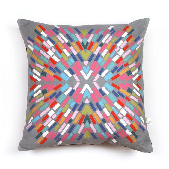 Tivolivat Spark Grey Pillow