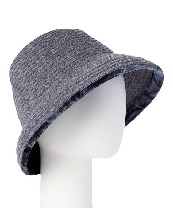 Loving this Downtown Style Gray Chenille Braid Hat on #zulily! #zulilyfinds