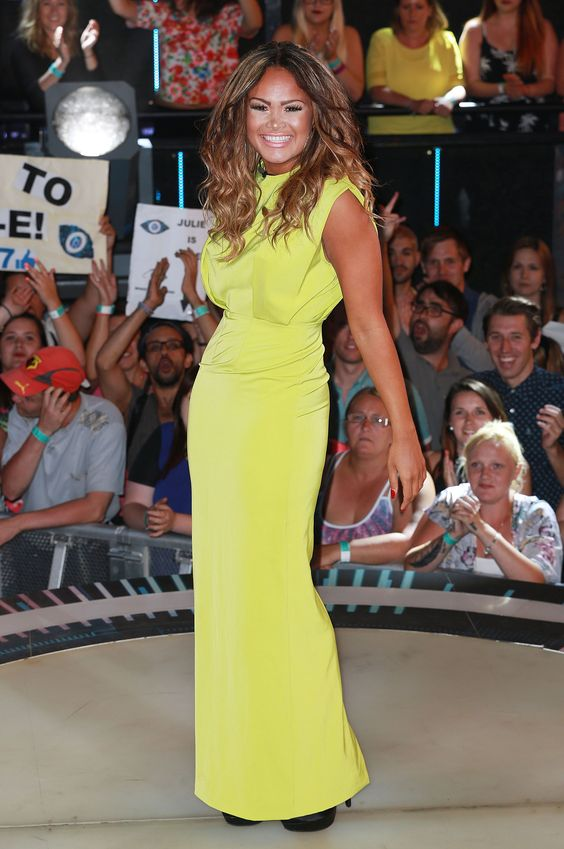 Zoe Birkett – Big Brother Eviction Night 01.08.14