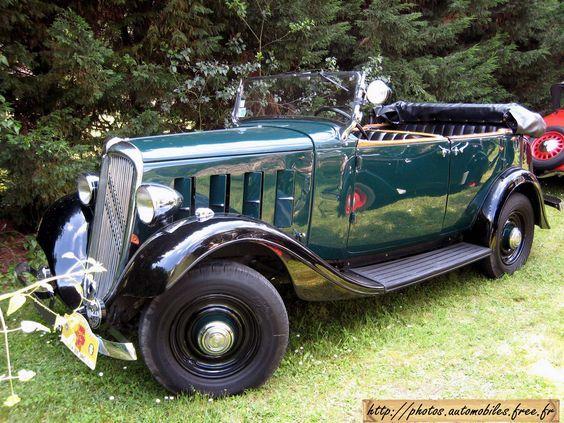 1933 Citroen 15cv Antique Cars Citroen Car Citroen