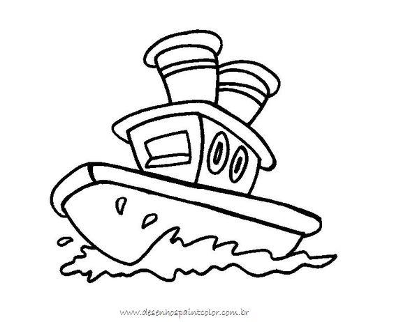 risco de barquino para colorir - Pesquisa Google