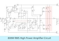 600W Audio Amplifier Circuit with 2SC5200 2SA1943udio amplifier circuit  with completely sound and popular using trans… | Amplifier, Power amplifiers,  Mini amplifier